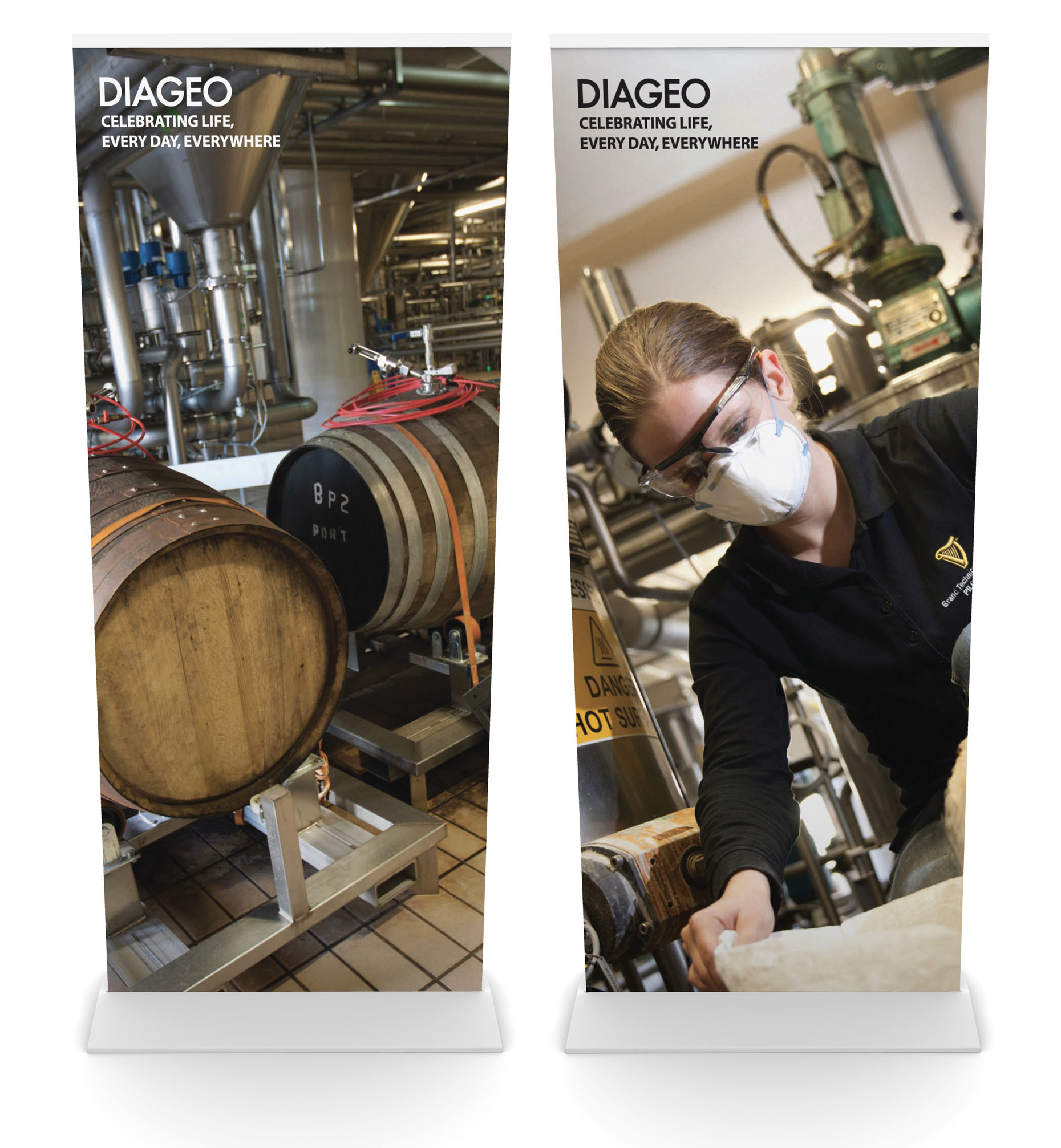 Diageo Display Design