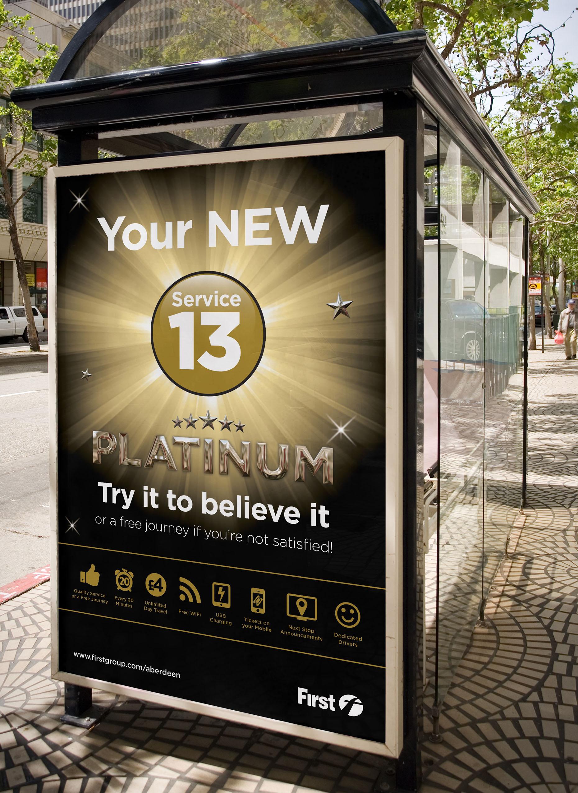 First Bus Billboard Design