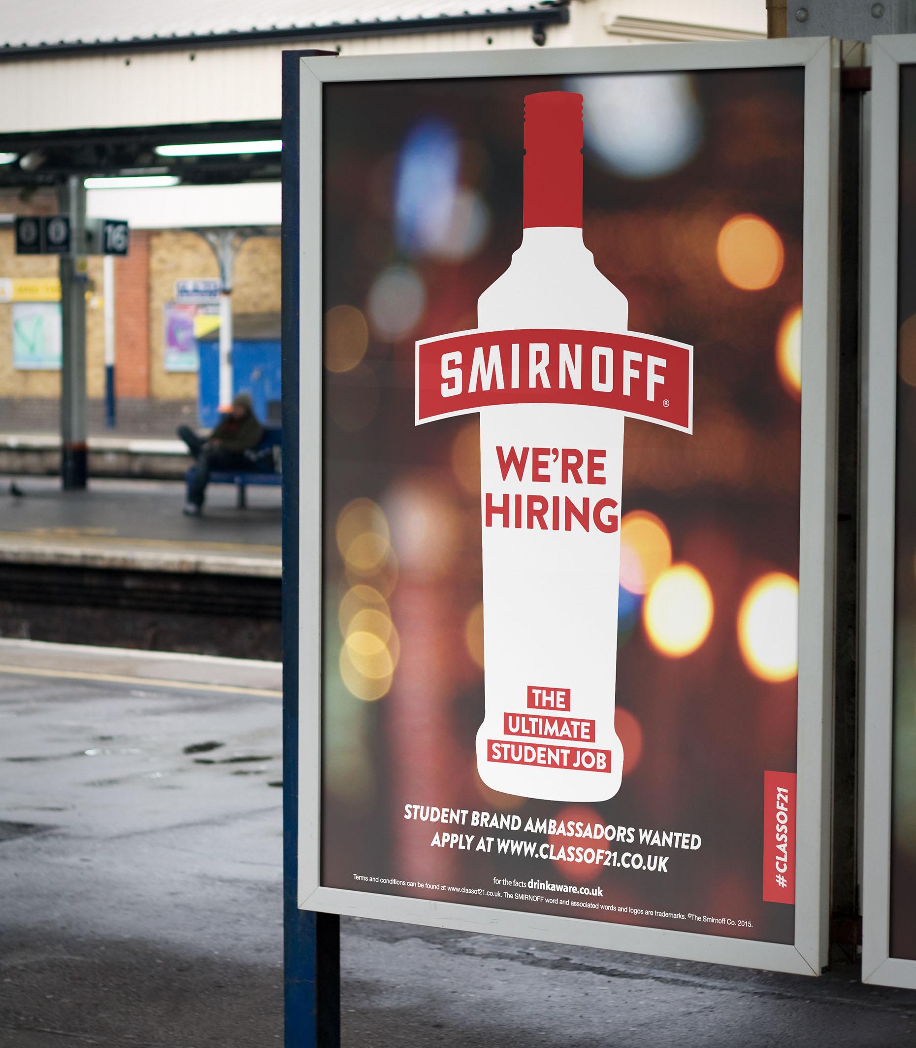 Smirnoff Poster Design