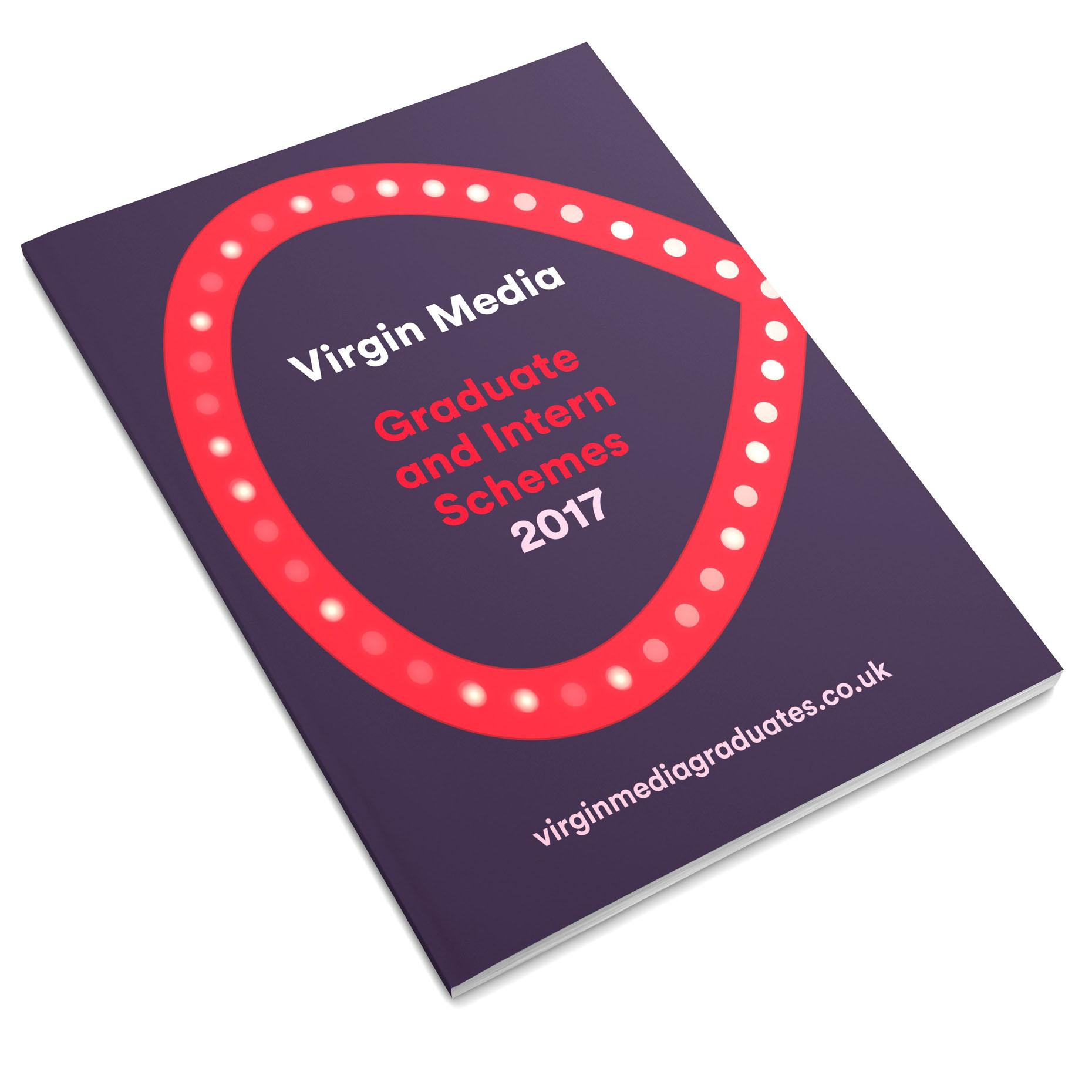 Virgin Media Brochure Design