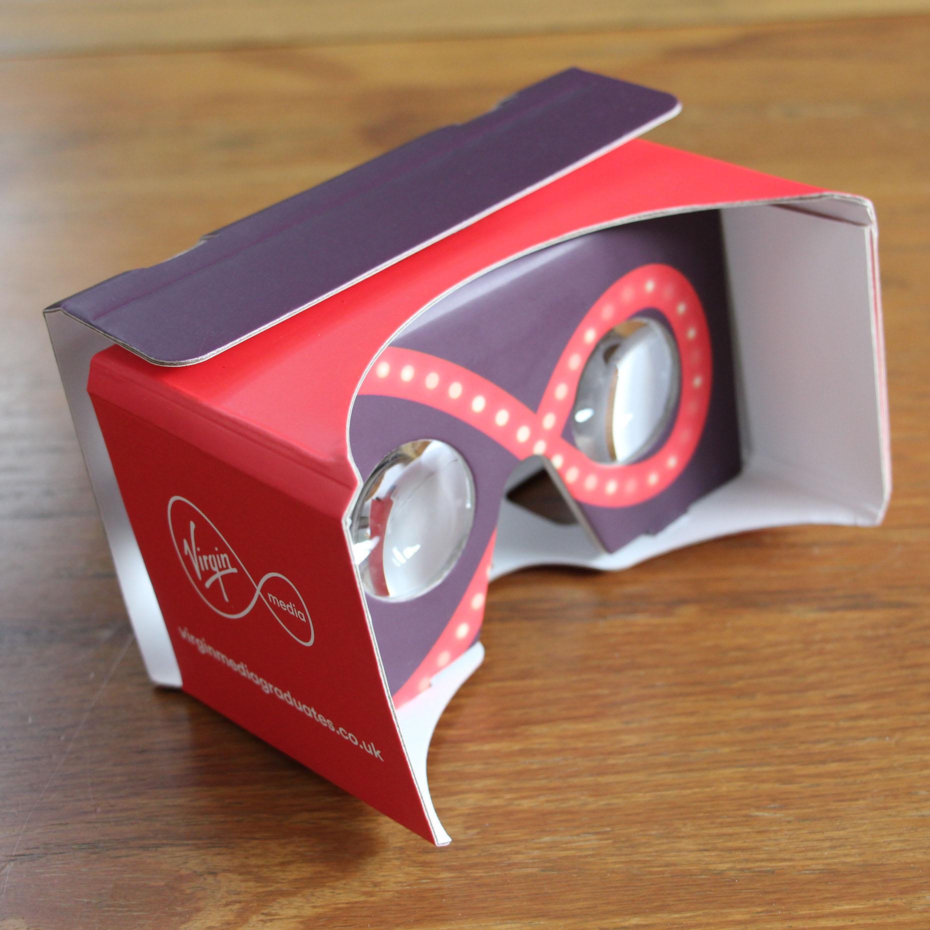 Virgin Media VR Goggles