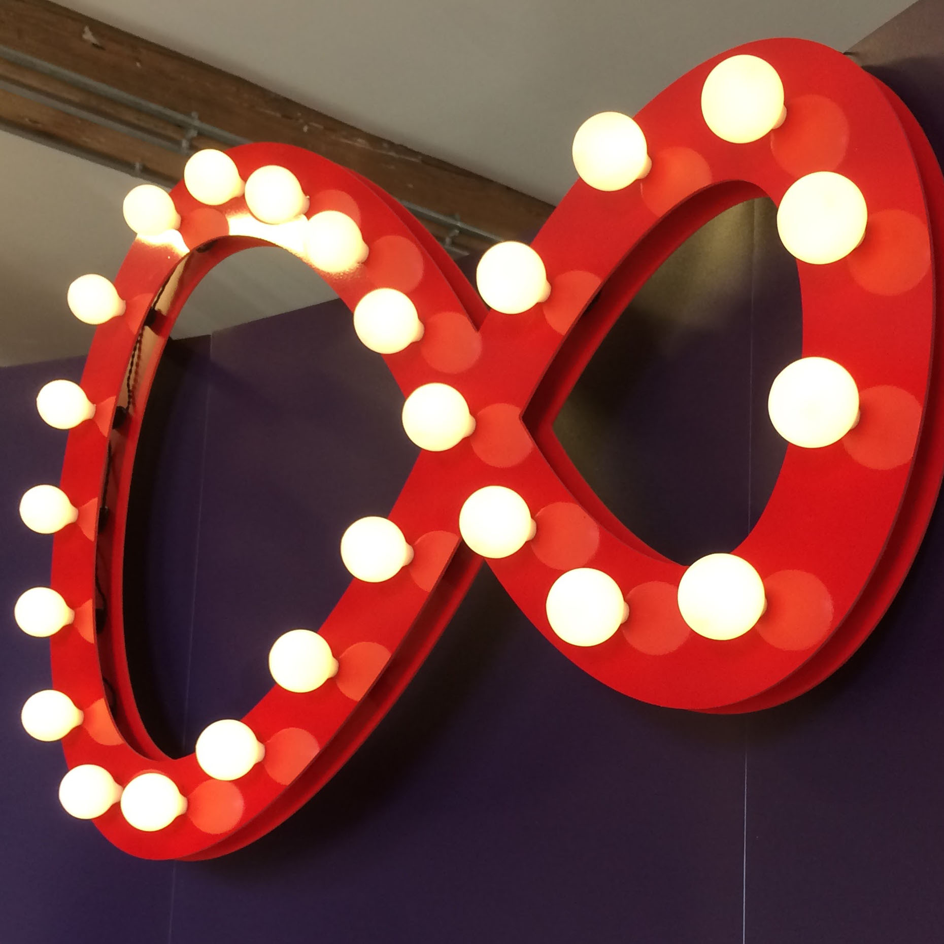Virgin Media Light Sign