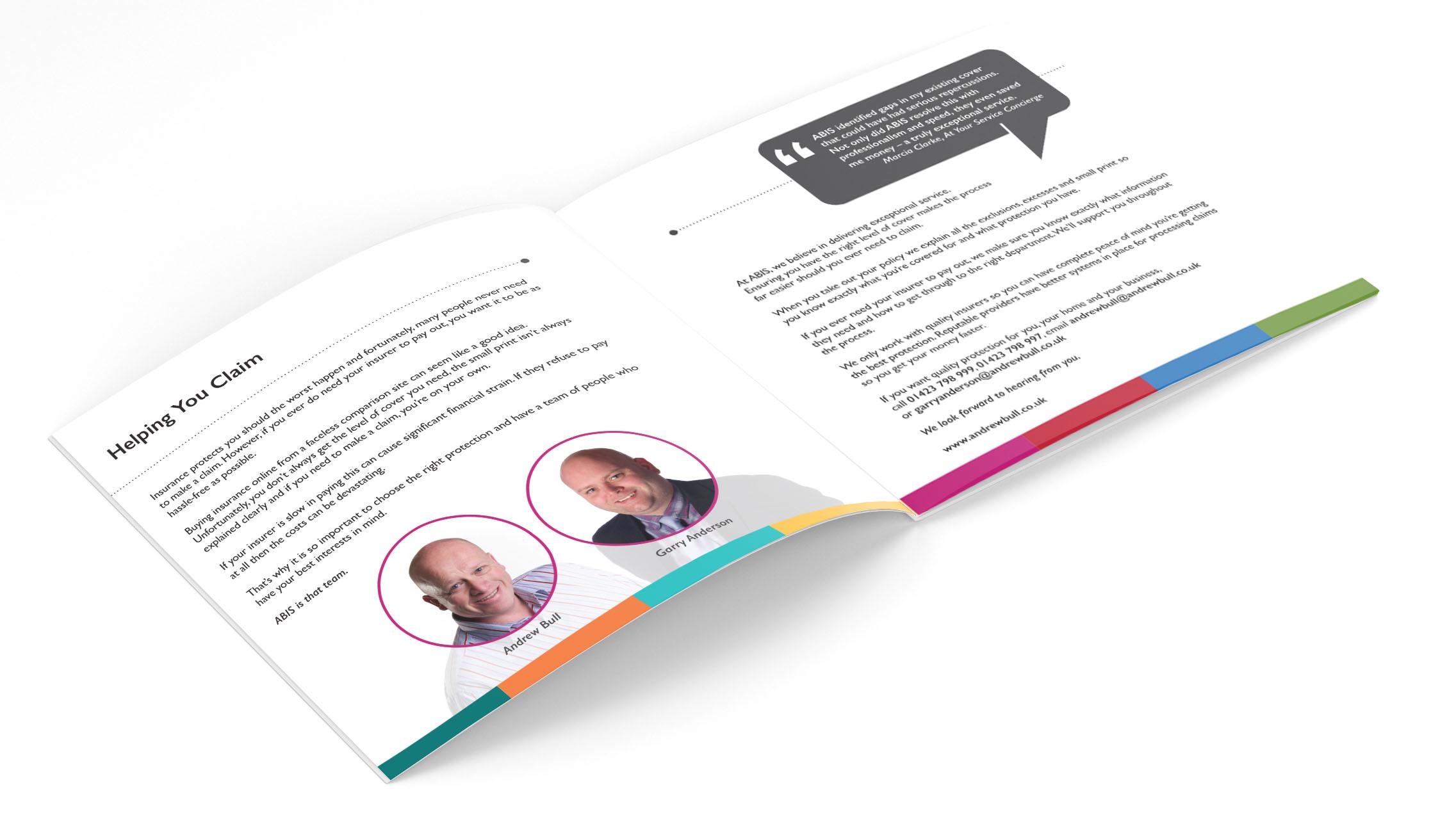ABIS Brochure Design